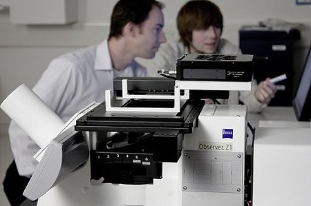 Laser lithography system from Nanoscribe GmbH allows the production of complex three-dimensional microstructures and nanostructures using photo-sensitive materials (Image: Nanoscribe)