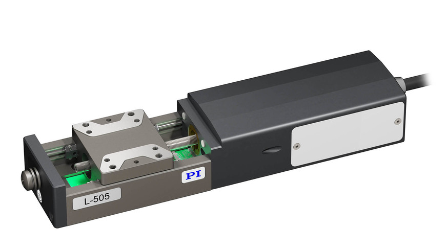 L-505 with direct fixed drive and stepper motor.