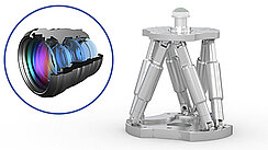 Hexapods for Optical Metrology