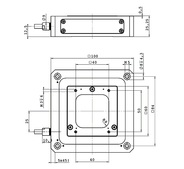 P-733.3, dimensions in mm
